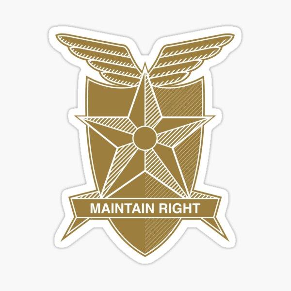 Mad Max MFP problema general correcto logo Pegatina