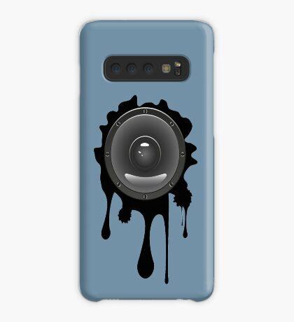 Grunge Audio Lautsprecher Hülle & Klebefolie für Samsung Galaxy