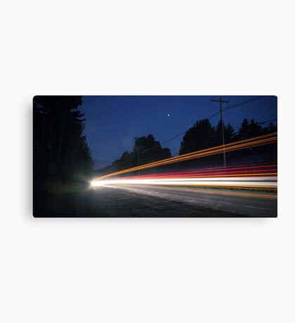 (Pre-dawn) Highway Traffic Canvas Print