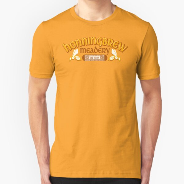 Honningbrew Meadery Slim Fit T-Shirt