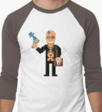 Spider Jerusalem - Transmetropolitan Pixel Art Men's Baseball ¾ T-Shirt