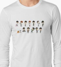 Super Junior - Chibi Members Set Langarmshirt
