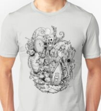 A nightmare in black and white Unisex T-Shirt