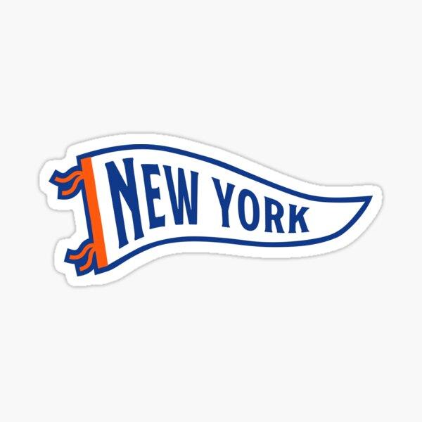 New York Pennant - Blue 1 Sticker