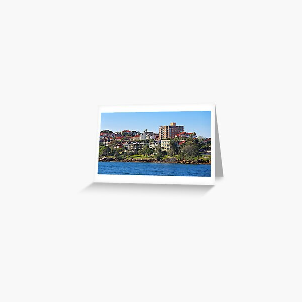 Harbour Homes, Sydney Greeting Card