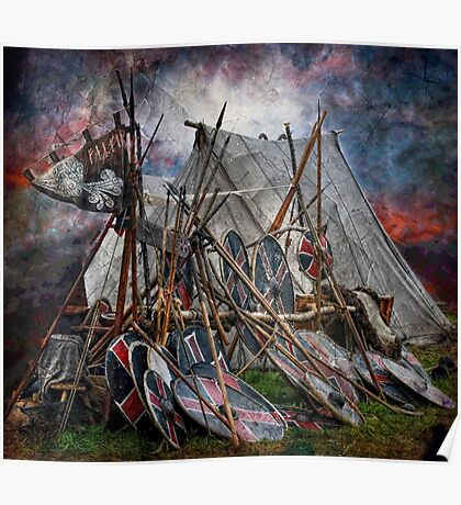 The viking camp Poster