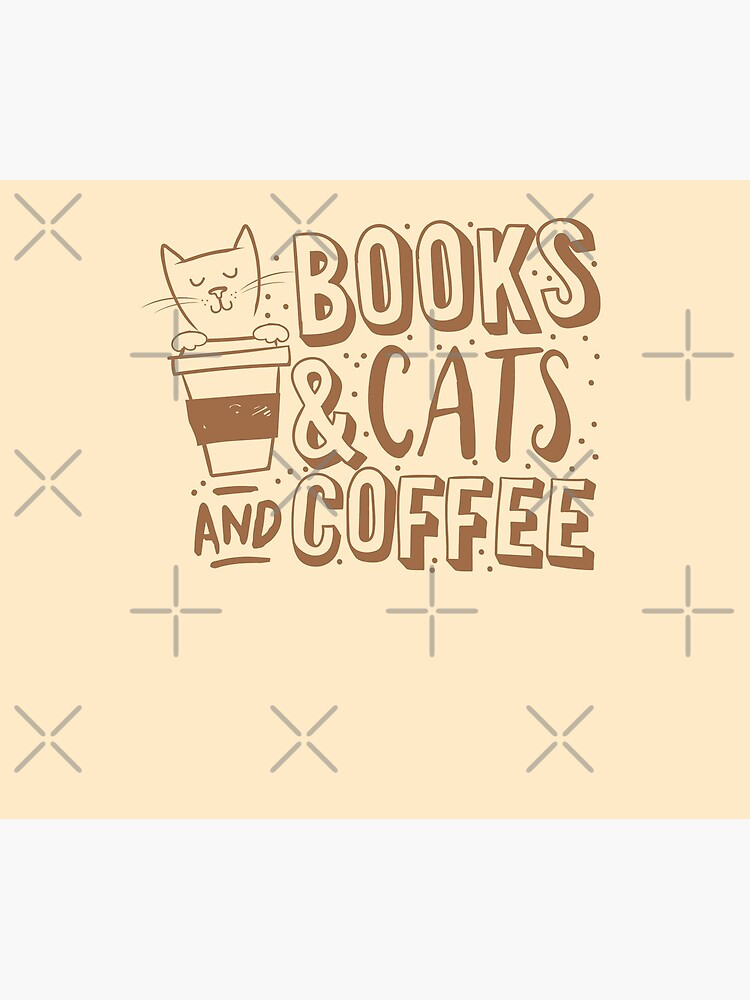 BOOKS and CATS and COFFEE by jazzydevil