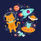 Cosmic Cats by robyriker