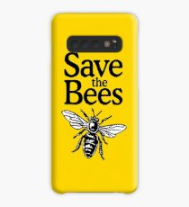 Save The Bees Beekeeper Quote Design Case/Skin for Samsung Galaxy