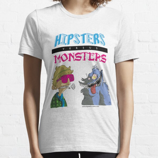 Hipsters vs. Monsters Essential T-Shirt