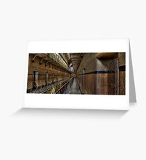 Old Melbourne Gaol Greeting Card