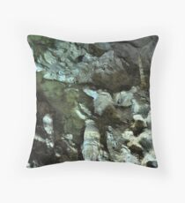 Carlsbad Caverns Detail Throw Pillow