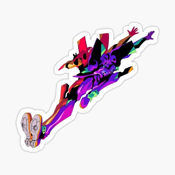 """Neon Genesis Evangelion: """"Mind, Matching, Moment"""" Sticker"""