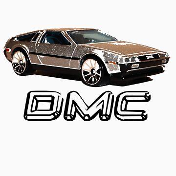 DeLorean by csabagyurak
