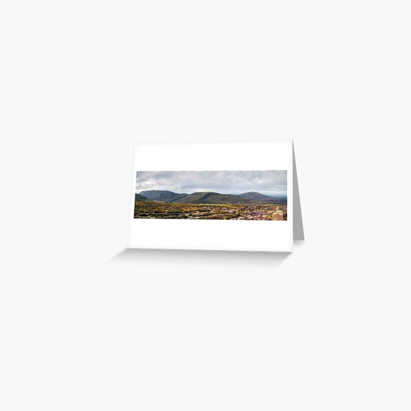 The Big Country Greeting Card