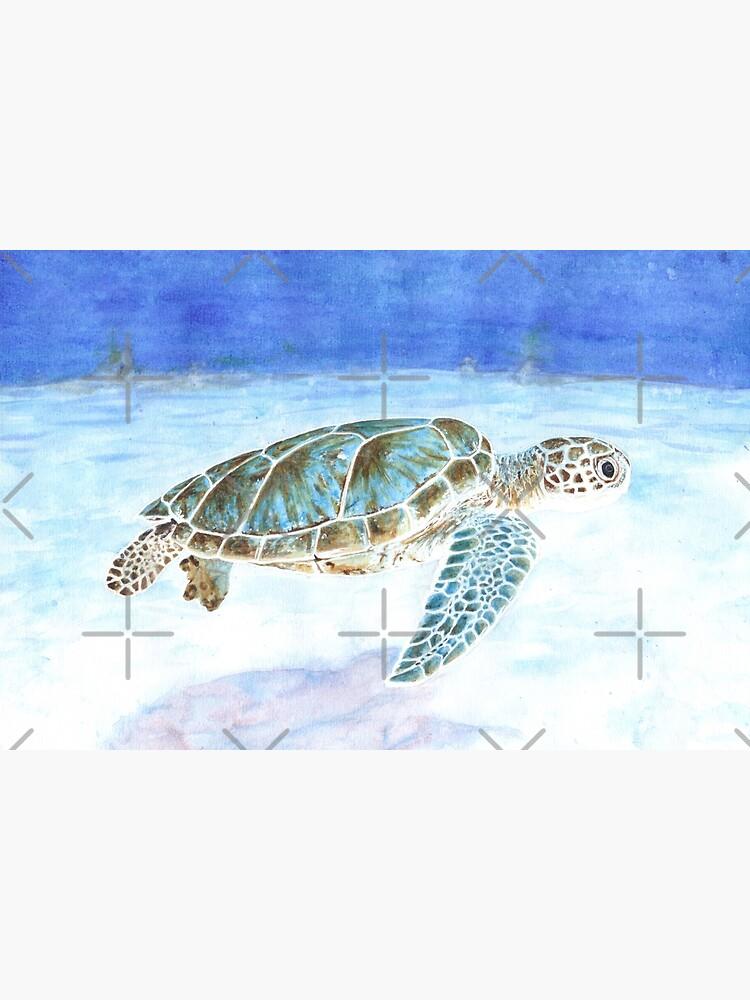 Sea turtle underwater by savousepate