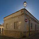 Algarve: Lagos Street Corner by Kasia-D
