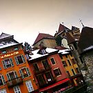 Annecy en biais by Dominique Meynier