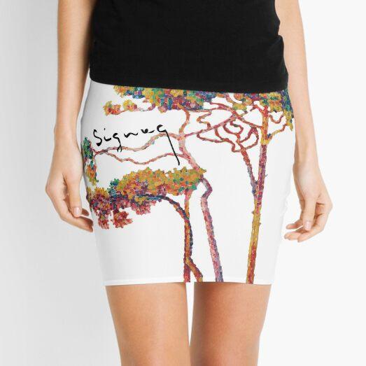 Art Design Painting Artist Signac Tree Mini Skirt