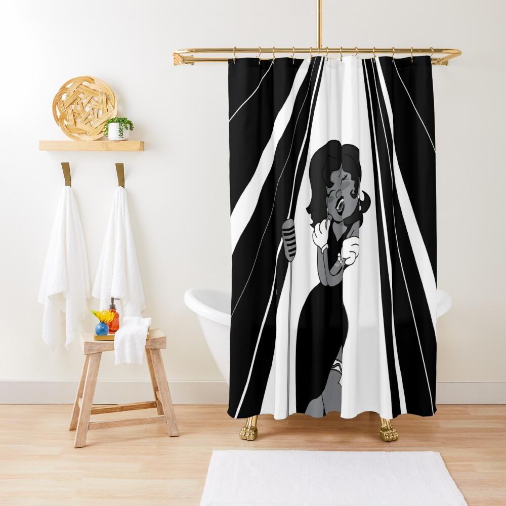 Vintage Singer Shower Curtain