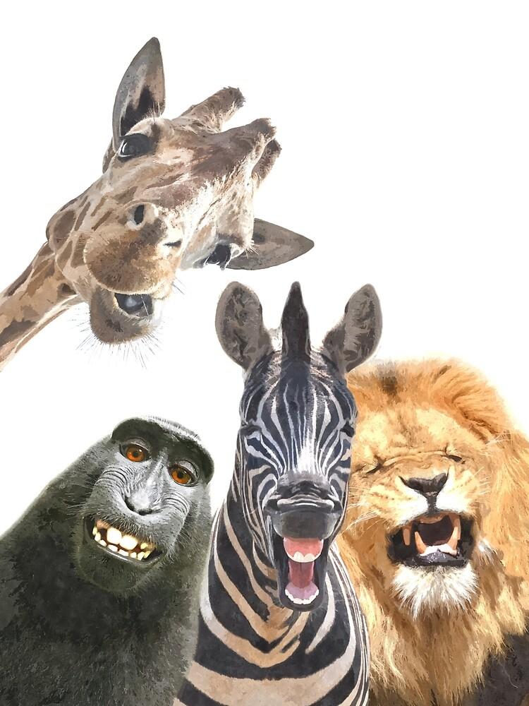 Jungle Animal Friends by Alemi