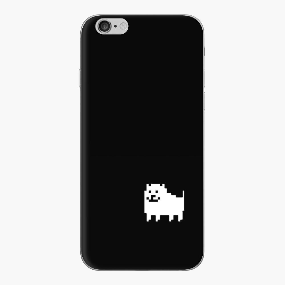 perro molesto Vinilo para iPhone
