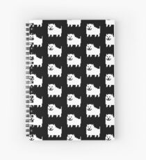 annoying dog Spiral Notebook
