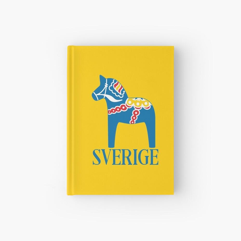 Sverige Dala Dalarna Sweden Pferd Dalecarlian Swedish Dalahost Notizbuch