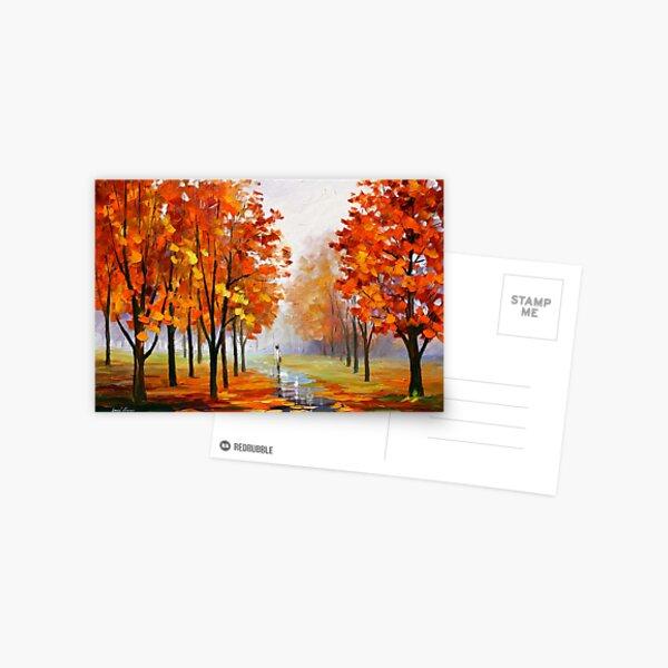 PINK FOG - Leonid Afremov Postcard