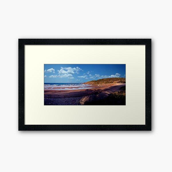 Agnes Water Beach Framed Art Print