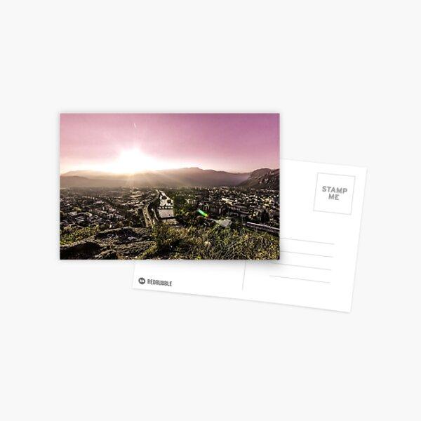 Sunset in Bolzano Postcard