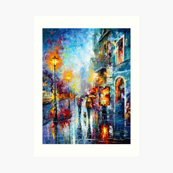 Melody of Passion - Leonid Afremov Art Print