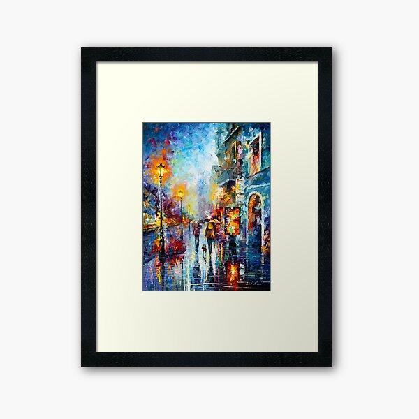 Melody of Passion - Leonid Afremov Framed Art Print