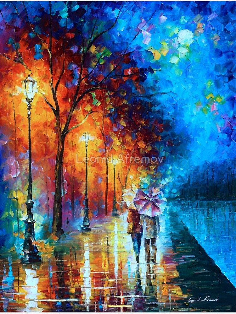 Love by The Lake - Leonid Afremov by vitebskart