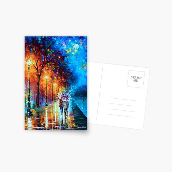 Love by The Lake - Leonid Afremov Postcard