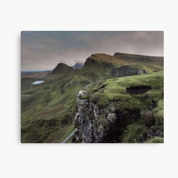 The Quirang hills, Isle of Skye Canvas Print