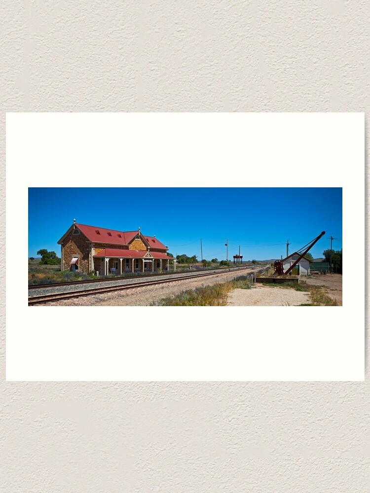 Alternate view of Manna Hill Station Art Print