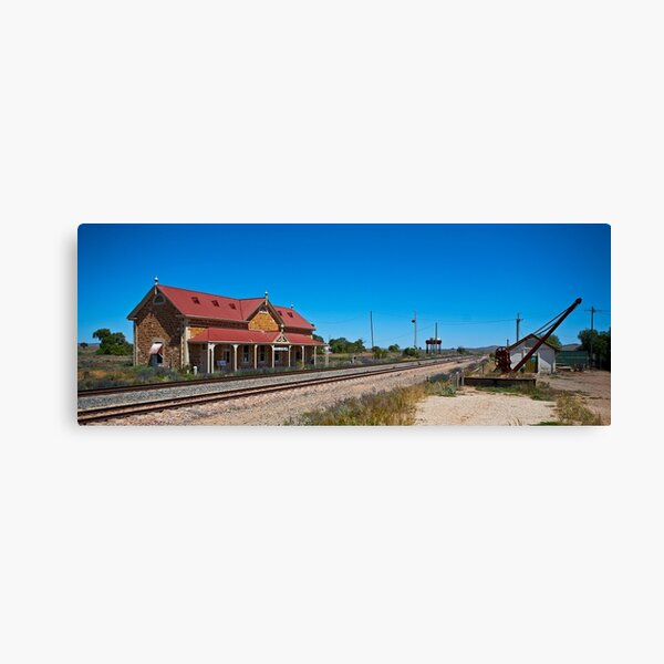 Manna Hill Station Canvas Print