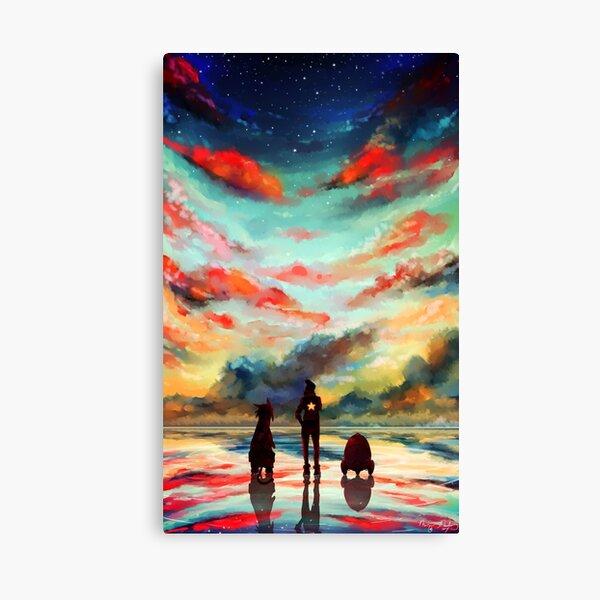 Aux étoiles Impression sur toile