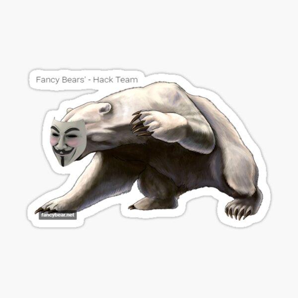 Fancy Bear Hacker (APT28) Sticker