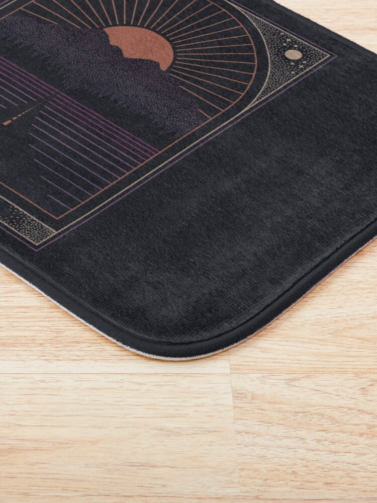 Alternate view of The Long Way Home Bath Mat
