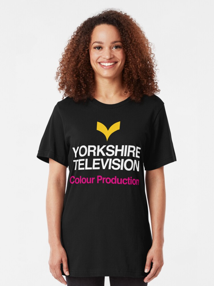 Alternate view of NDVH Yorkshire Television Slim Fit T-Shirt