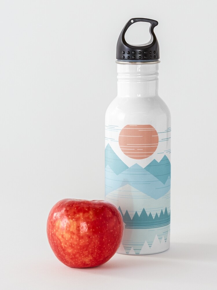 Alternate view of Cabin In The Snow Water Bottle