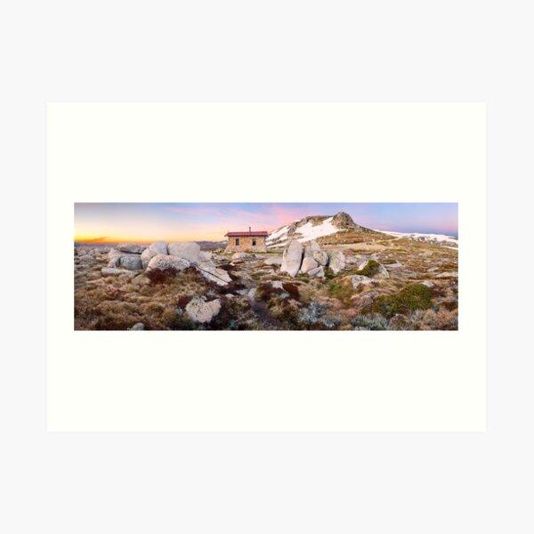 Seamans Hut, Mt Kosciuszko, New South Wales, Australia Art Print