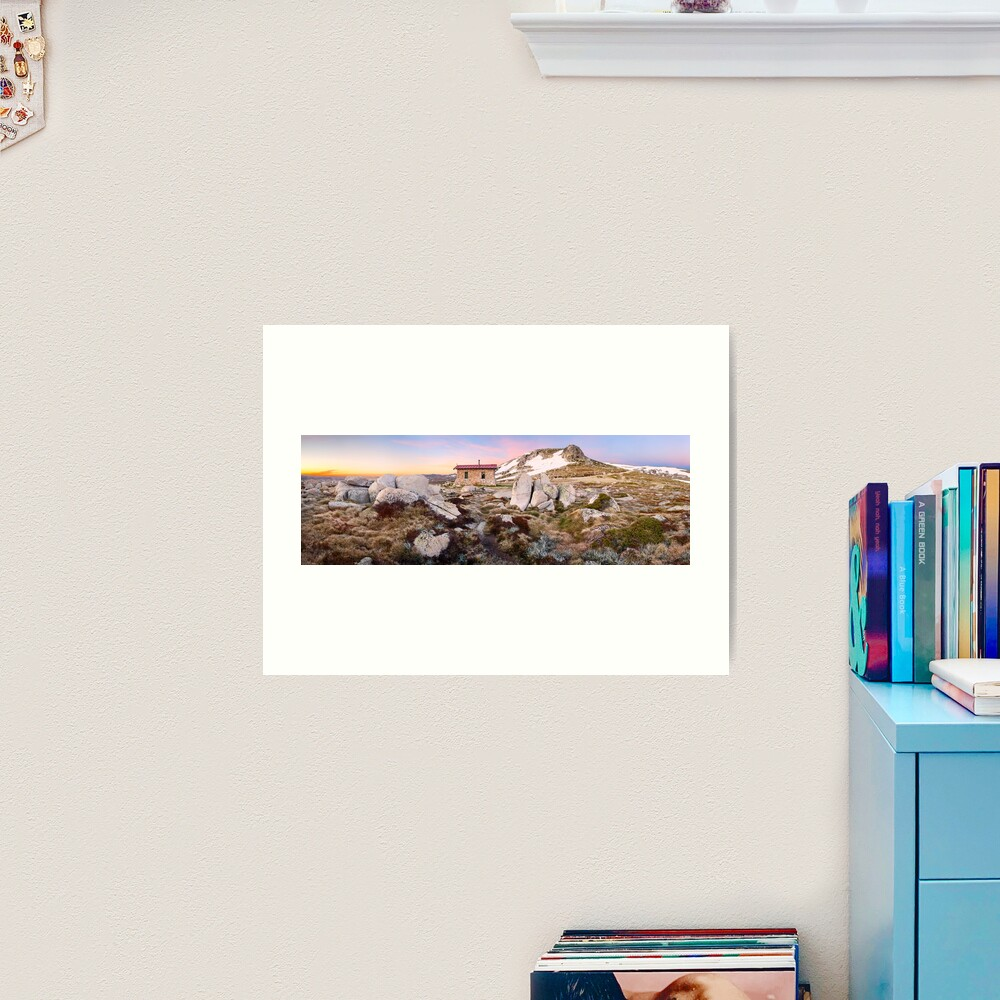 Seamans Hut, Mt Kosciuszko, New South Wales, Australia Art Print