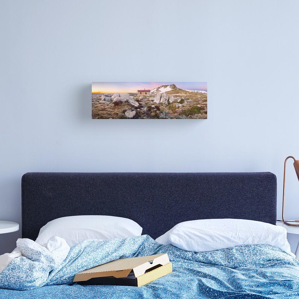 Seamans Hut, Mt Kosciuszko, New South Wales, Australia Canvas Print