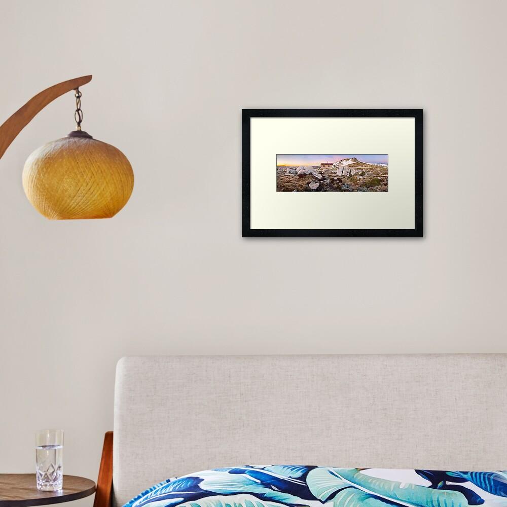 Seamans Hut, Mt Kosciuszko, New South Wales, Australia Framed Art Print