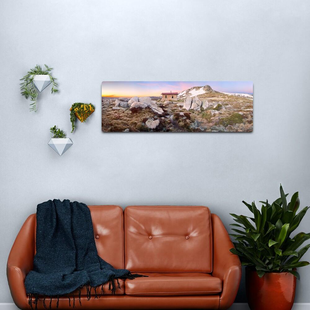 Seamans Hut, Mt Kosciuszko, New South Wales, Australia Metal Print