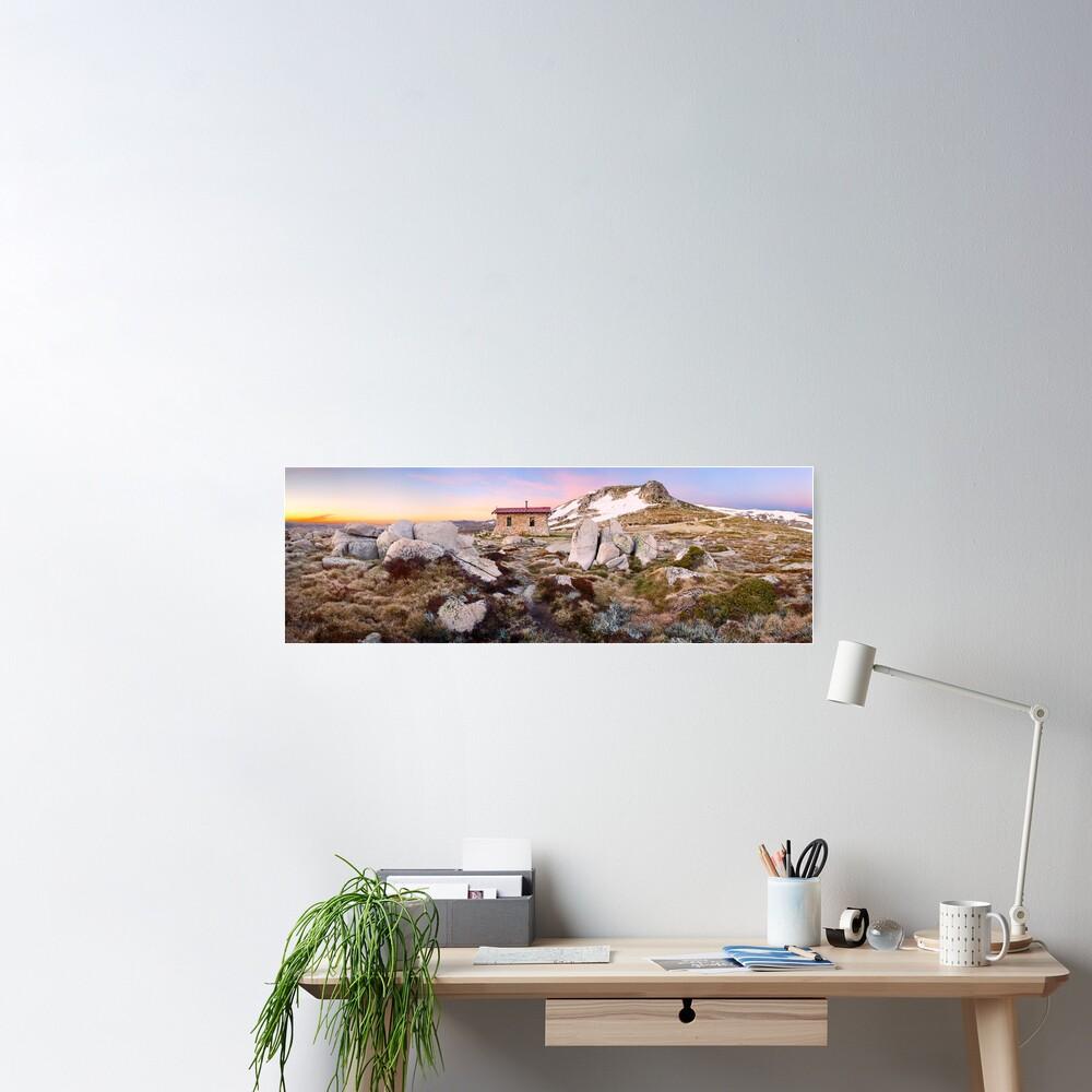 Seamans Hut, Mt Kosciuszko, New South Wales, Australia Poster