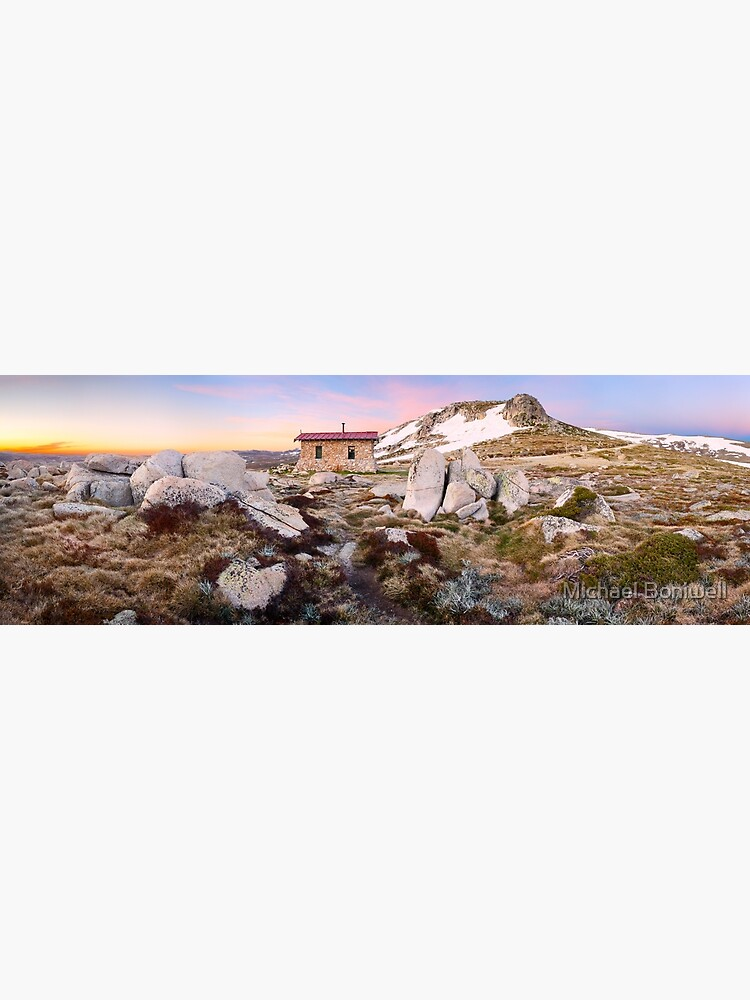 Seamans Hut, Mt Kosciuszko, New South Wales, Australia by Chockstone